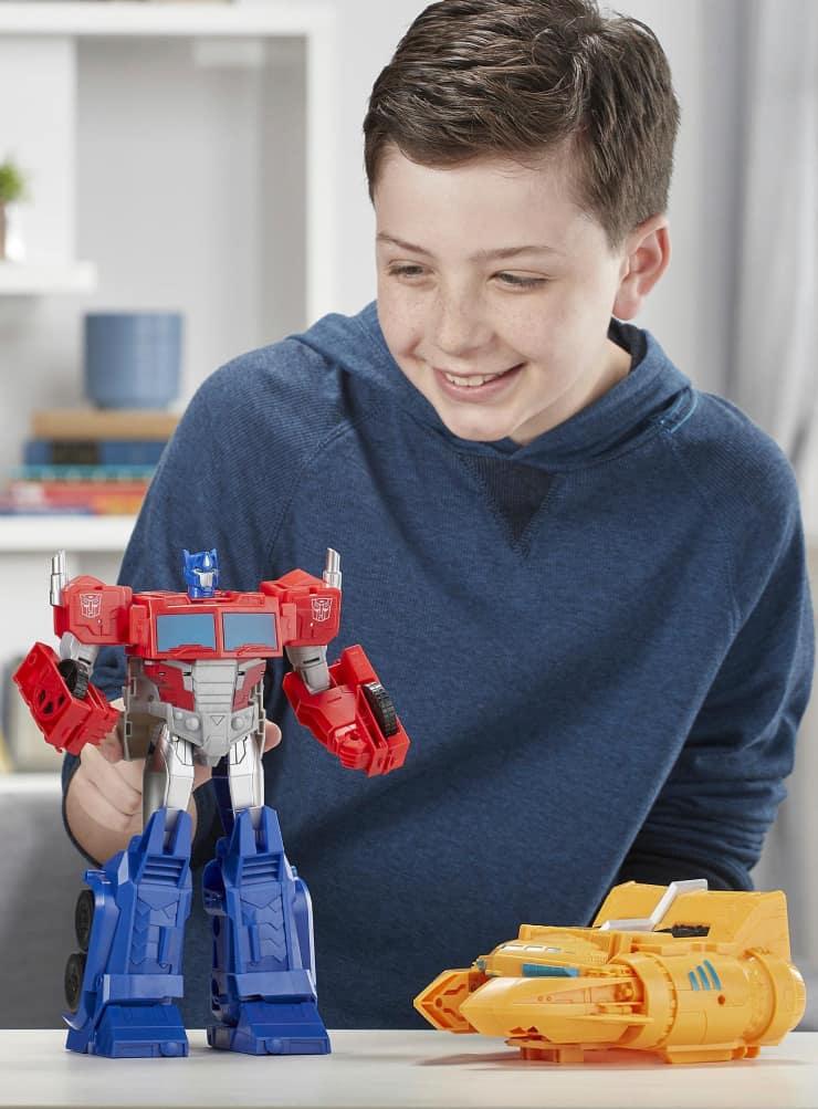 Transformers Cyberverse Spark Armor Ark Power Optimus Prime