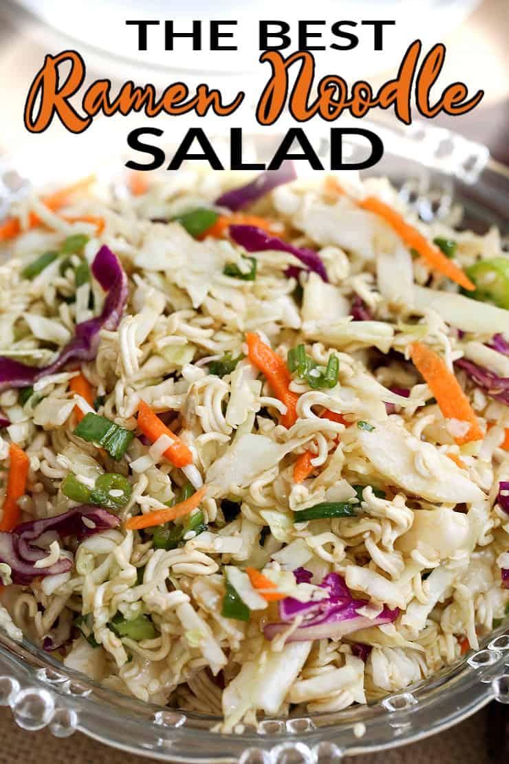 best asian ramen noodle salad