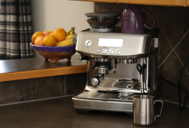Cafe Quality Coffee at Home with the Breville Barista Pro