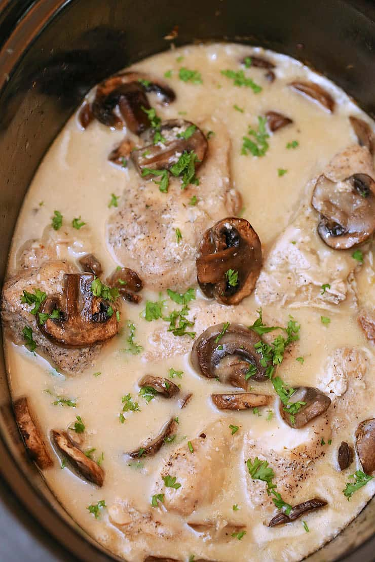 chicken marsala in slow cooker