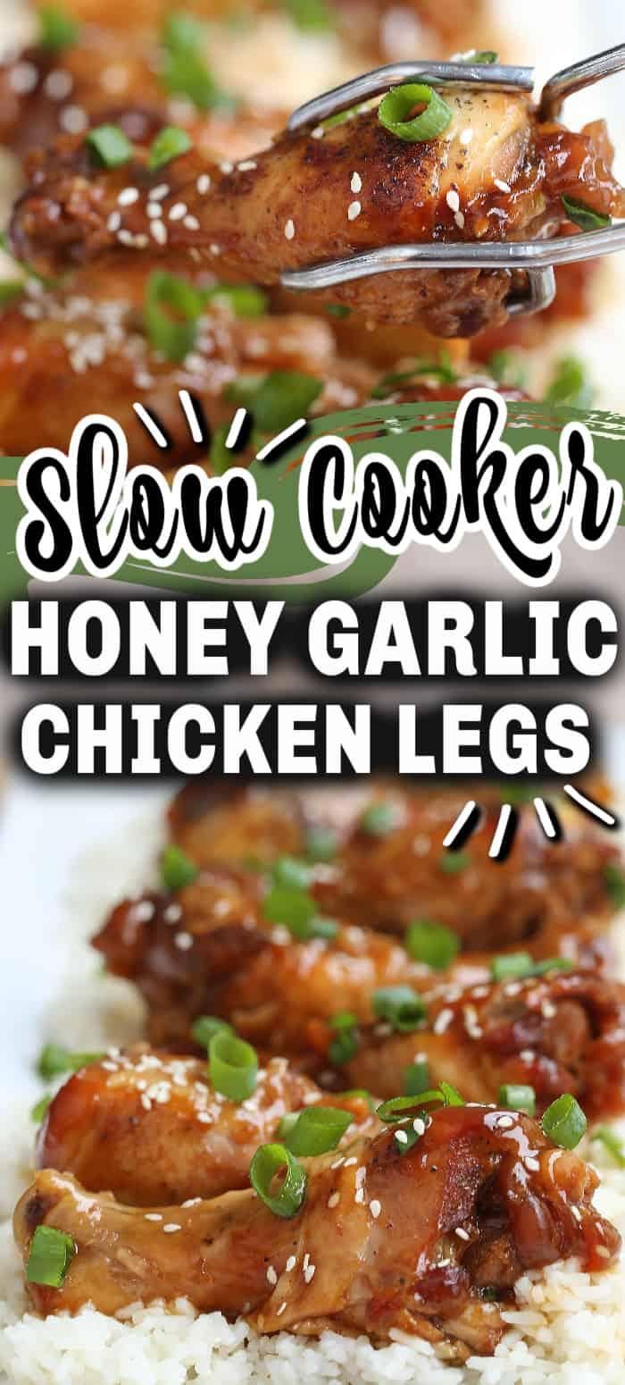 slow cooker chicken legs text