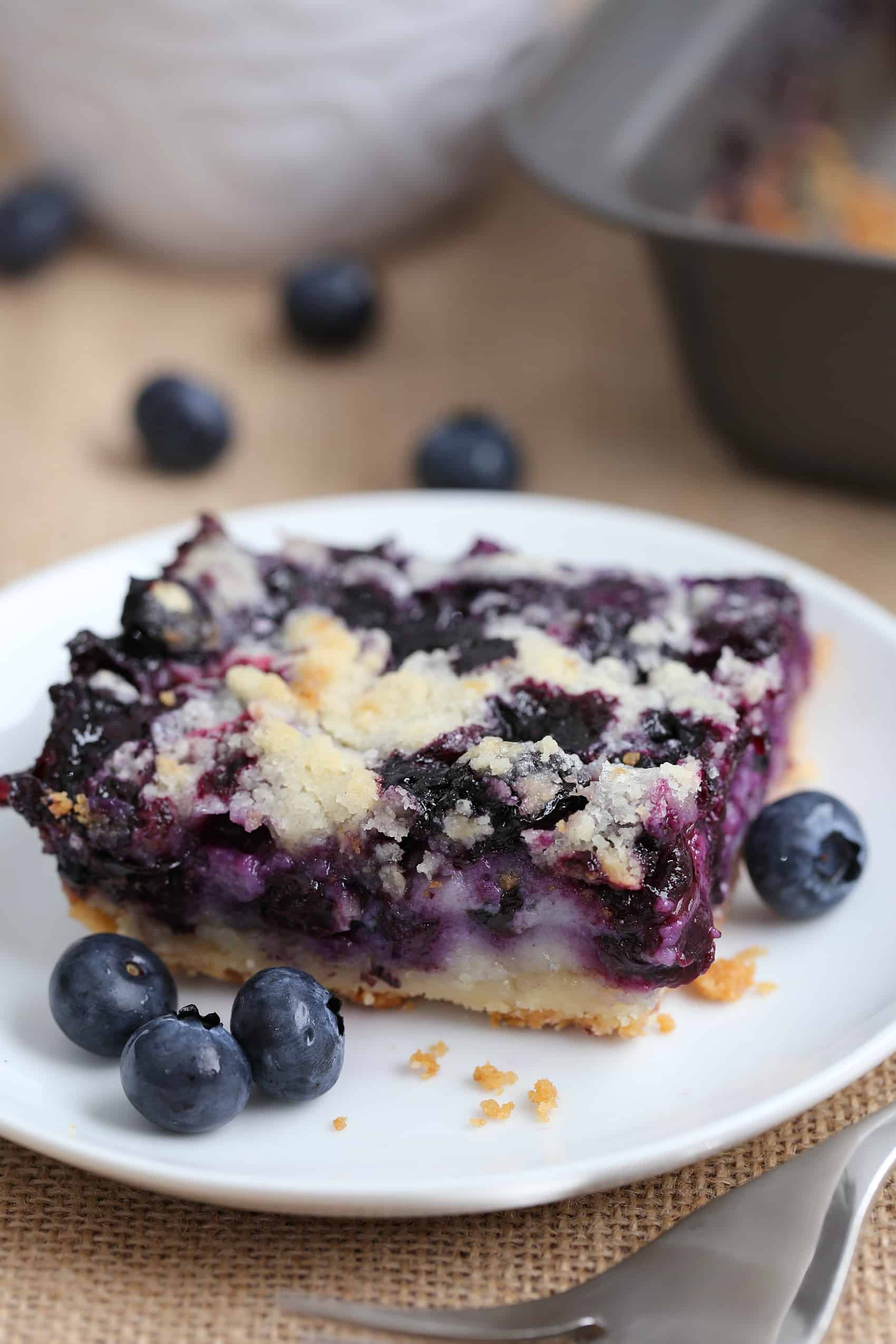 Easy Blueberry Pie Bars